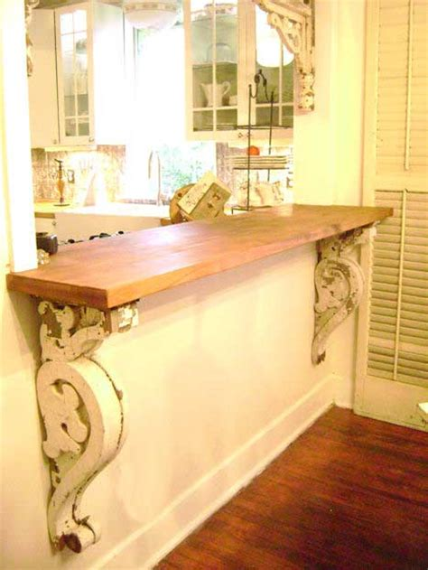 Decorating Ideas With Corbels 10 Cool Ways To Decorate With Brackets Homedesigninspired