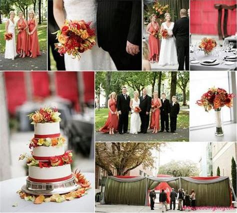 september decorating ideas bride s best of fall wedding colors paperblog