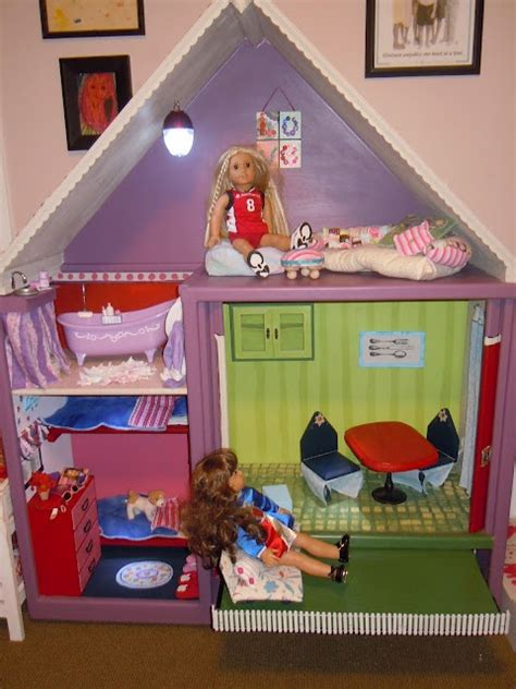 doll house stuff american girl dollhouse from an old entertainment center