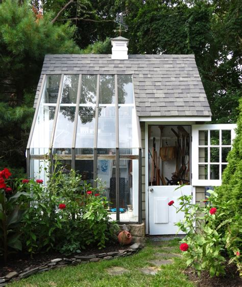 Shed In Backyard by Backyard Ideas She Sheds