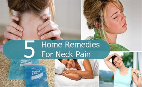 5 effective home remedies for neck