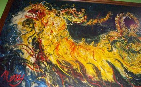 Lukisan Afandi lukisan terindah luklisan karya affandi