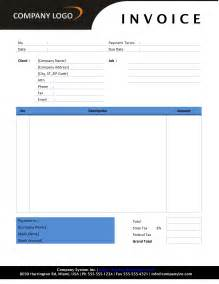 word template contractor invoice template free microsoft word templates