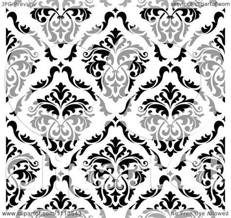 vector background pattern black and white clipart black and white triangular damask pattern seamless