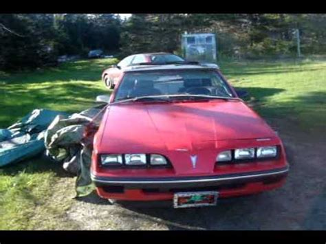 1985 pontiac sunbird convertible gm 1984 sunbird no top 2014