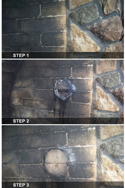 cleaning fireplace cleaning fireplace soot from brick or simply tips