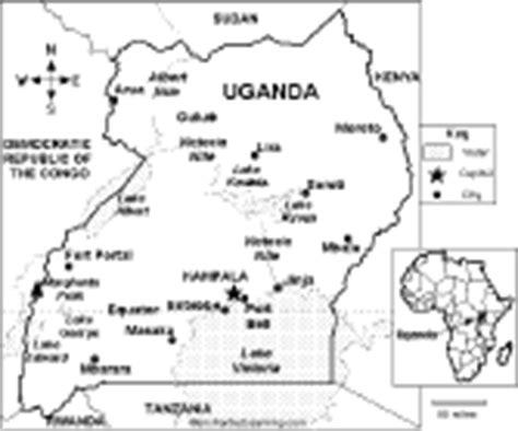 uganda map coloring page u geography enchantedlearning com