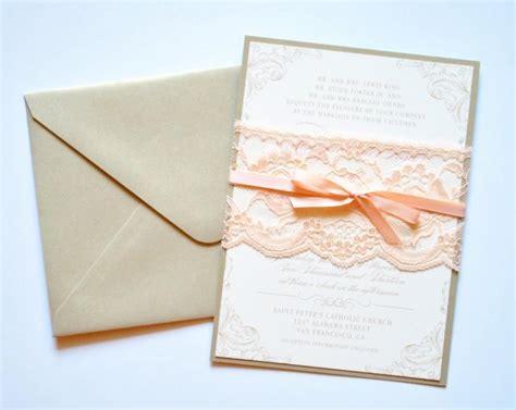 blush pink wedding invitations blush lace wedding invitations blush and gold lace