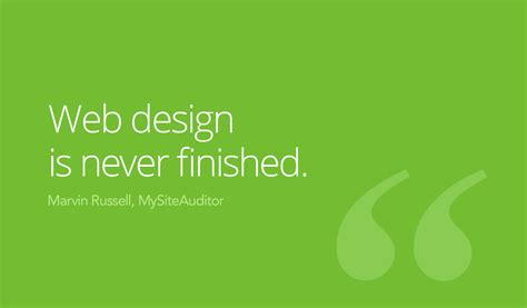 design is never done the most important words every new web design client must hear