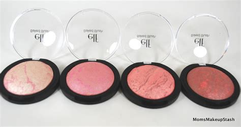 Baked Blush Peachy Cheeky Rich Pinktastic studio baked blushes a review photos