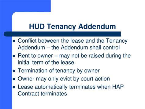 section 8 tenancy addendum ppt south carolina state housing finance and development