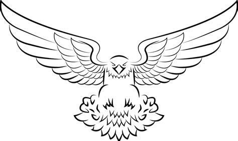 improved eagle vector by souklin on deviantart