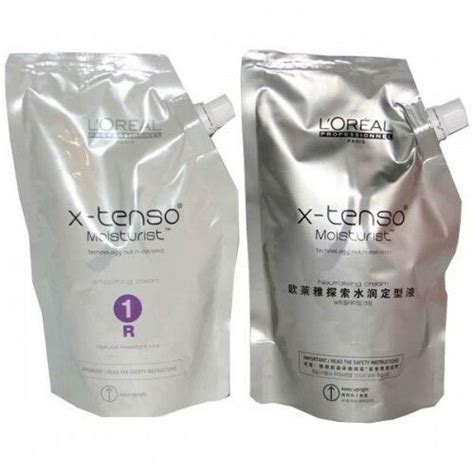 Loreal Extenso Hair Treatment l or 233 al professionnel x tenso straightener resistant