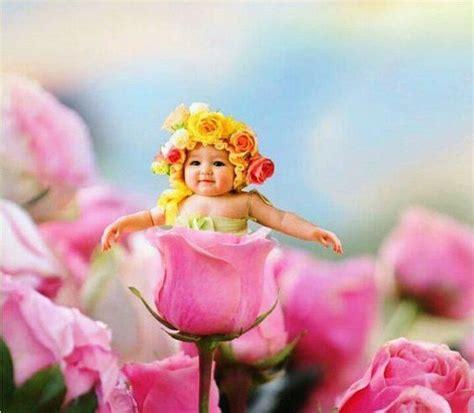 wallpaper flower baby beautiful sweet baby beautiful baby flower style free