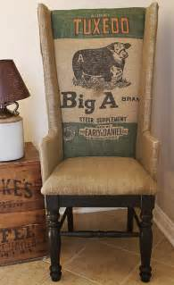 Western Home Decor by Rustic Wing Back Chair Diy Project From A Corner Cottage
