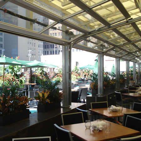 doors new york restaurants aluminum view glass garage doors on restaurant