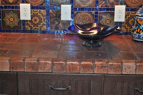 terra cotta tile backsplash terracotta tile countertops flickr photo