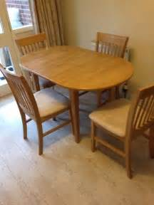Homebase Lincoln Dining Table And 4 Chairs Homebase Lincoln Kitchen Dining Table Condition In