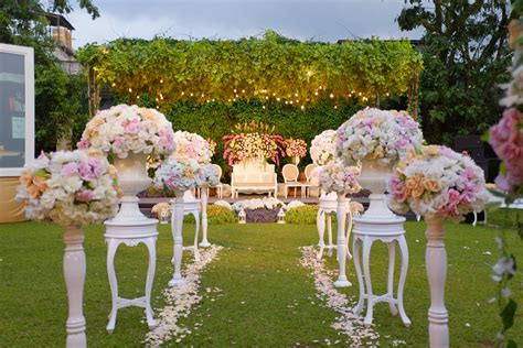 Wedding Bandung Venue by Wedding Outdoor Bernuansa Alam Di Towers Garden Sheraton