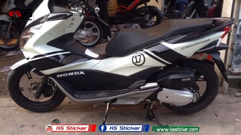 Sticker Honda Pcx by Honda Pcx150 Pcx Sticker Number 17
