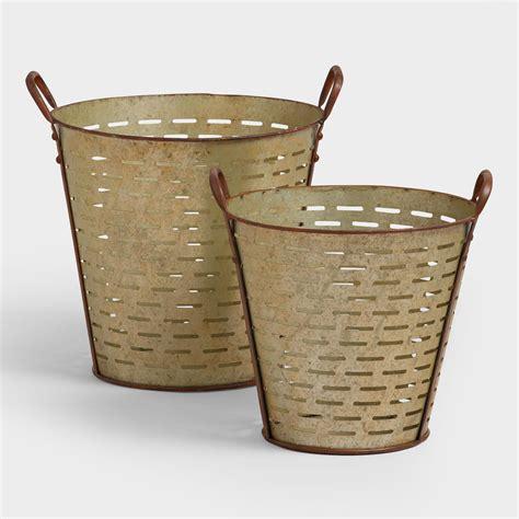 Baju Basket 1 Stel metal nihal baskets world market