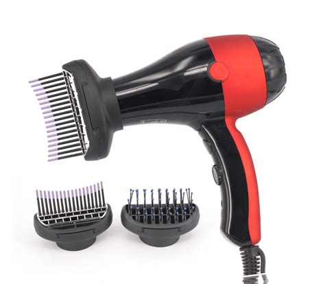 Hair Dryer Brush Attachments innovative ozone function salon hair dryer with brush