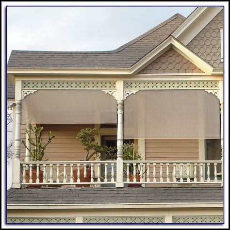 bamboo roll up patio blinds patios home decorating