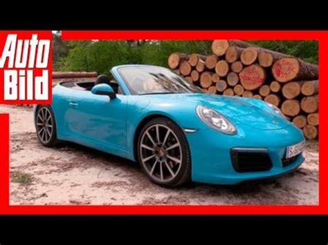 Auto Bild Sportscars 3 2016 by Teaser 2016 Porsche 911 Fahrbericht Auto Bild