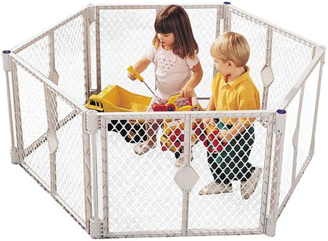 6 panel baby pen states superyard play yard grey 6 panel sturdy and versatile in my opinion