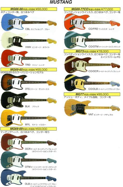 fender japan mustang bass guitar prices in japan rob chapman forum