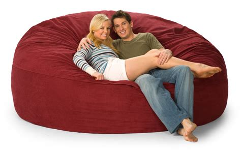 lovesac bean bag couch 7 fombag cover cover only