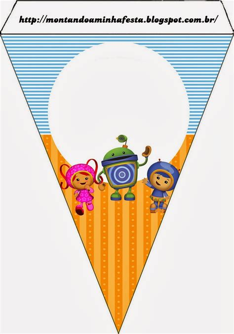 Printable Team Umizoomi Birthday Banner | umizoomi free party printables images and invitations