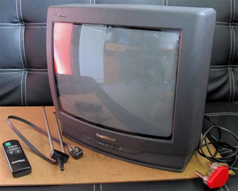 Tv Led Goldstar standard crt small goldstar crt tv with aerial and remote was sold for r220 00 on 18 jan at