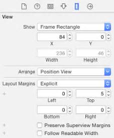 Layout Margin   objective c padding or margin for uilabels in