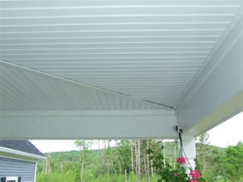 patio ceilings vinyl beadboard soffit for porch ceilings