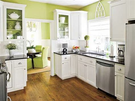 Green Kitchen Cabinets by Kitchen White Wall Green Cabinets For Kitchen Green