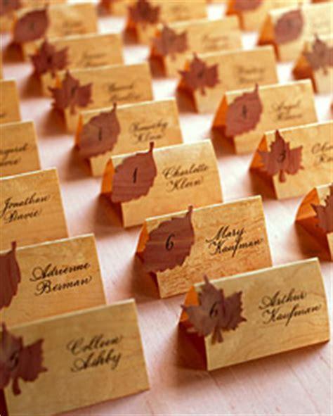 wooden seating cards martha stewart