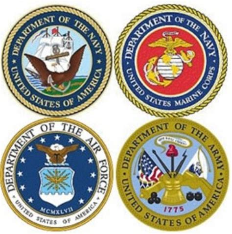 military branch logos serving linn benton and lincoln counties community