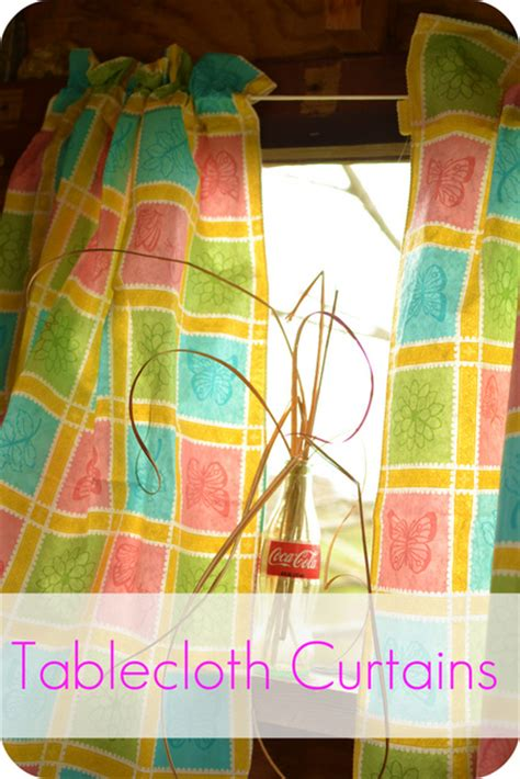 Thrifty Decorating Playhouse Curtains