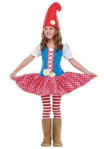 toddler girls halloween costumes toddler gnome costume