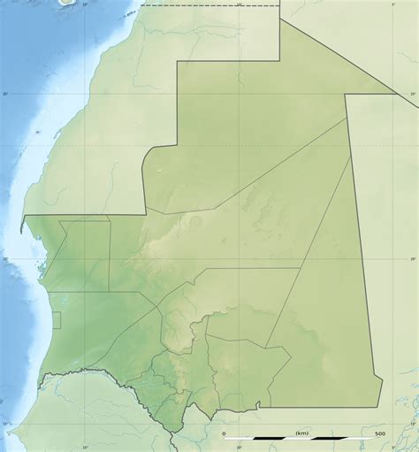 address lookup map file mauritania relief location map jpg wikimedia commons
