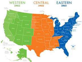 Map Of Eastern Time Zone by Central Time Zone Related Keywords Amp Suggestions Central