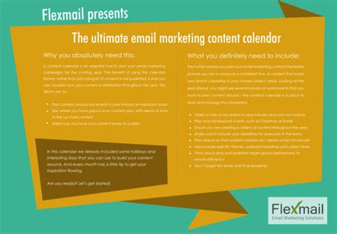Email Marketing Calendar Template by Content Calendar Templates For Free Formtemplate