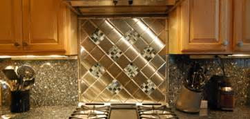 kitchen tables designer: kitchen backsplash ideas  metal tile options