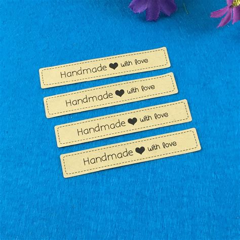 Personalized Handmade Labels - 500pcs handmade custom sticker label with for