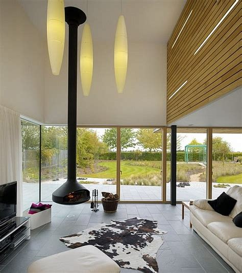 Suspended Fireplace by 19 Fireplace Design Ideas For A Warm Home During Winter