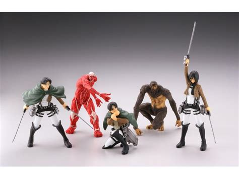 figure attack attack on titan real figure collection wave 1 box of 12
