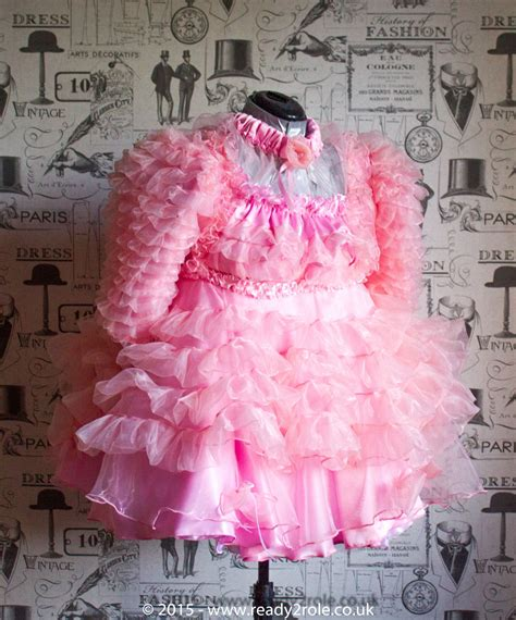 sissies in frilly dresses the krystal sissy prissy frilly dress hand