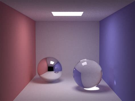 Direct Lighting Pane A Tracer By Kevin Beason