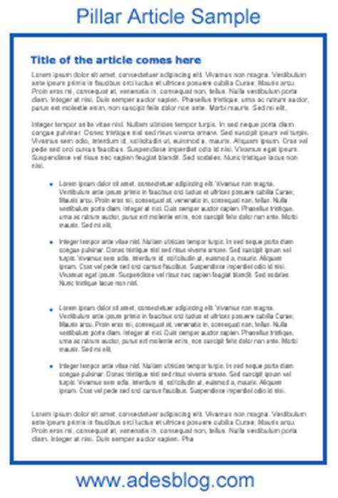 format essay bi article sle article writing